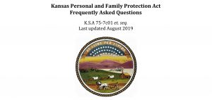 Kansas Personal and Family Protection Act