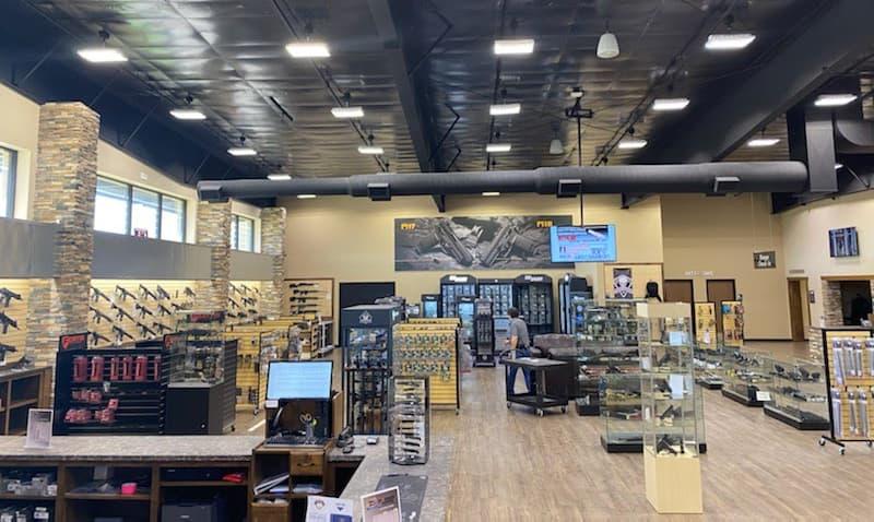 Wichita gun club store