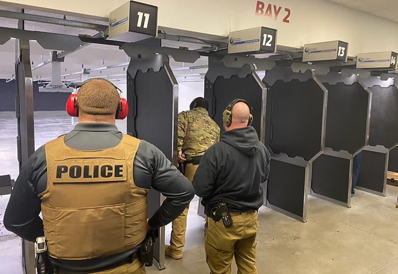 Wichita gun club range