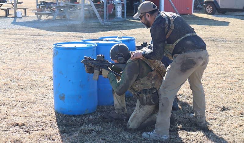 Wichita gun club training